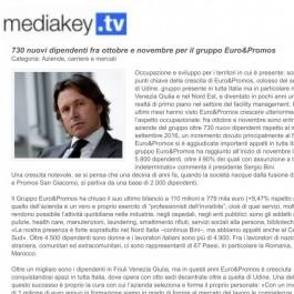 730 nuovi dipendenti fra ottobre e novembre per il gruppo Euro&Promos;