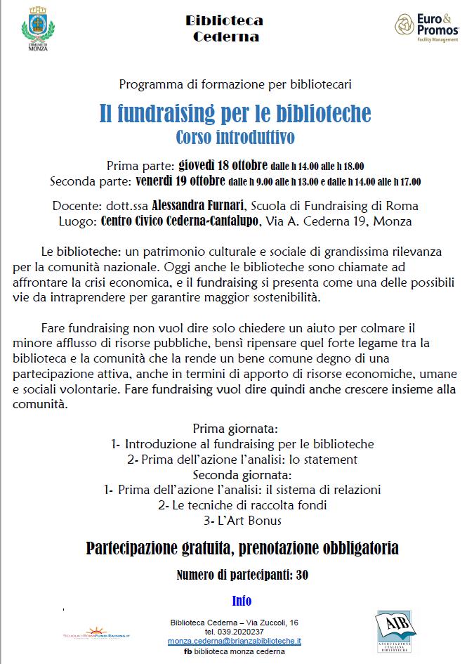 euro promos corso biblioteca comune monza